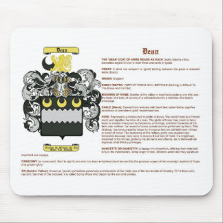 Dean meaning mouse pad