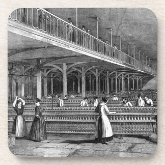Dean Mills - The Doubling Room, 1851 (litho) Drink Coaster