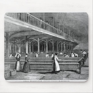 Dean Mills - The Doubling Room, 1851 (litho) Mouse Pad