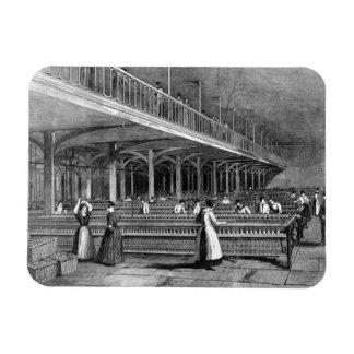 Dean Mills - The Doubling Room, 1851 (litho) Rectangular Photo Magnet