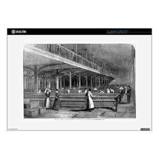 Dean Mills - The Doubling Room, 1851 (litho) Laptop Decals