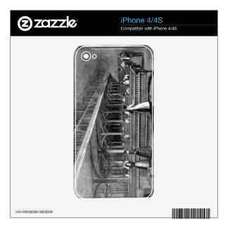 Dean Mills - The Doubling Room, 1851 (litho) Skins For The iPhone 4S