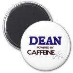 Dean powered by caffeine fridge magnet