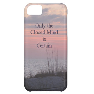 Dean Spanley Quote Closed mind Sunset iPhone 5C Case