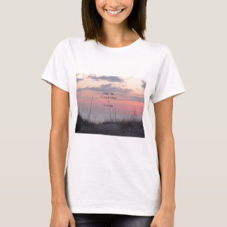 Dean Spanley Quote Closed mind Sunset T-Shirt