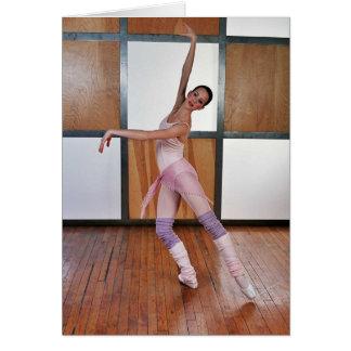 Deanna McBrearty - cuadrados 1 del ballet Tarjeta De Felicitación