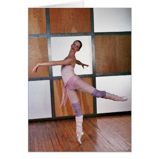 Deanna McBrearty - cuadrados 3 del ballet Tarjeta De Felicitación