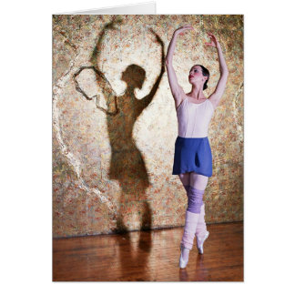 Deanna McBrearty - Gold Shadow en pointe Card