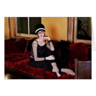 Deanna McBrearty - reflejando en estilo Tarjeta De Felicitación