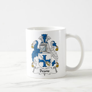 Deans Family Crest Coffee Mugs