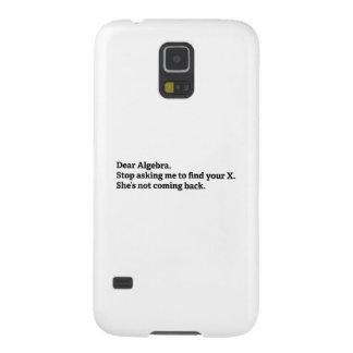 Dear Algebra Galaxy S5 Case