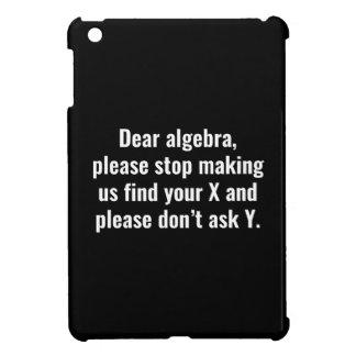 Dear Algebra iPad Mini Covers