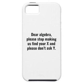 Dear Algebra iPhone SE/5/5s Case