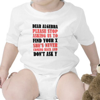 Dear Algebra Please Stop Asking Us To Find Your X Romper