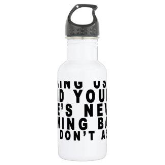 Dear Algebra T-shirts.png Stainless Steel Water Bottle