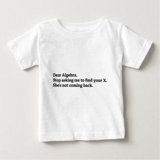 Dear Algebra Tee Shirt