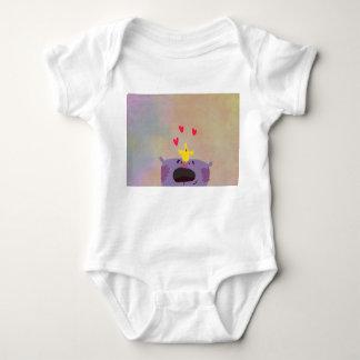 Dear bear baby bodysuit