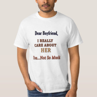 Dear Boyfriend - I Really Care Tee Shirt