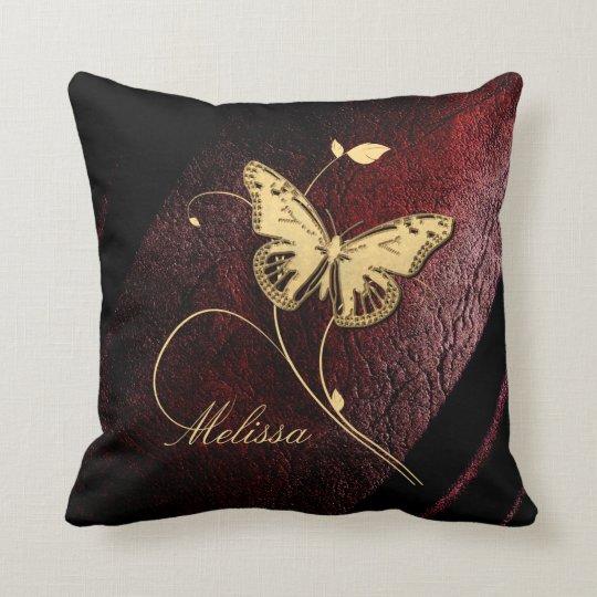 Dear Butterfly ID199 Throw Pillow