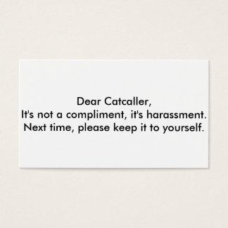dear catcaller cards