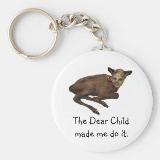 Dear Child Keychain
