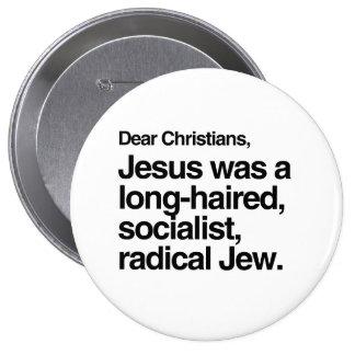 DEAR CHRISTIANS JESUS WAS A JEW -.png Pins