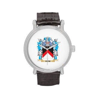 Dear Coat of Arms - Family Crest Wrist Watch