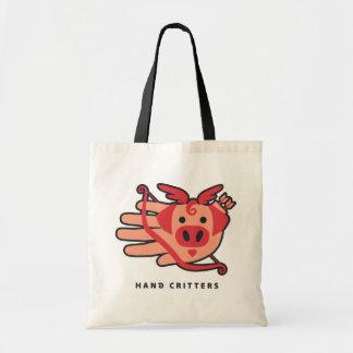 Dear Cupid Pig Cupig Tote Bag