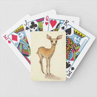 Dear deer bicycle playing cards