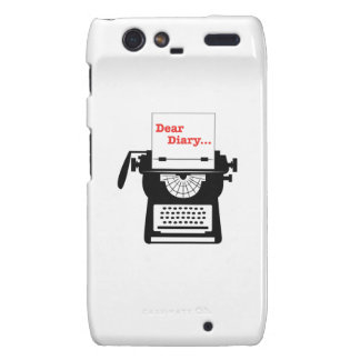 Dear Diary Motorola Droid RAZR Case
