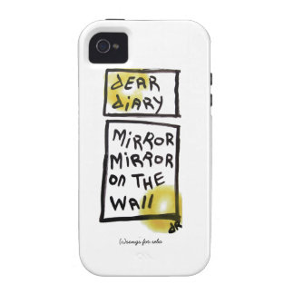 dear diary iPhone 4 cover