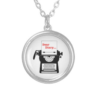 Dear Diary Personalized Necklace