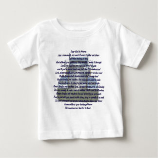 Dear God in Heaven Baby T-Shirt