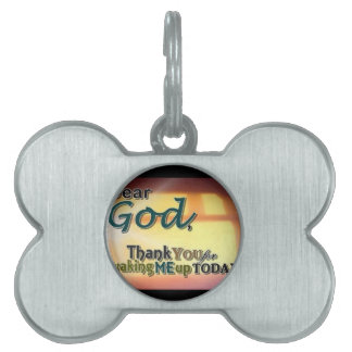 Dear God Pet ID Tags