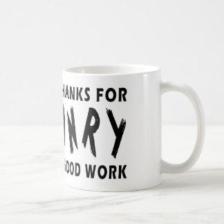 Dear God Thanks For Falconry Mug