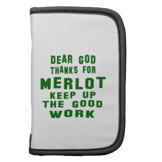 Dear god thanks for Merlot. Folio Planner