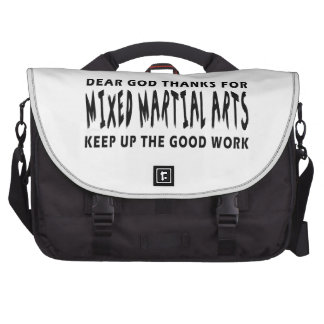 Dear God Thanks For Mixed martial arts Laptop Computer Bag