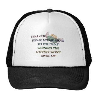 DEAR GOD TRUCKER HAT