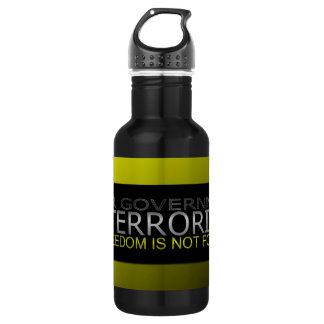 Dear Government: I Don't Negotiate With Terrorists Water Bottle