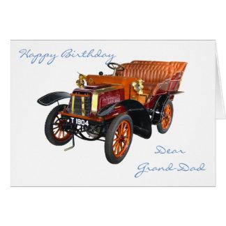 DEAR GRANDAD BIRTHDAY CARD
