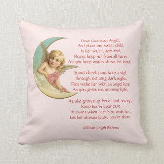 Dear Guardian Angel Birth announcment pillow