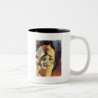 Dear Heart Two-Tone Coffee Mug
