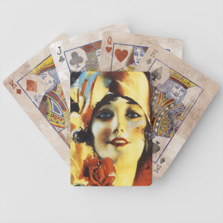 Dear Heart - Vintage Song Sheet Bicycle Playing Cards