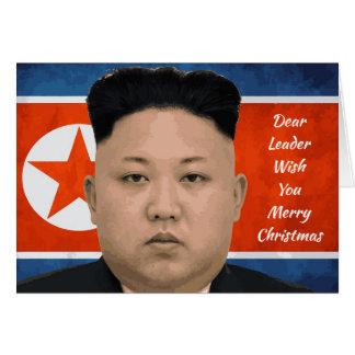 Dear Leader Merry Christmas Card