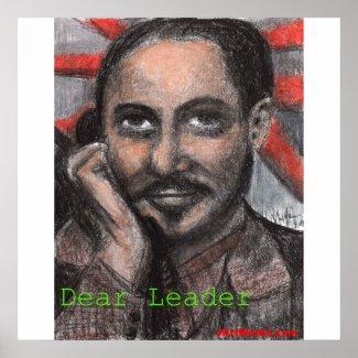Dear Leader print