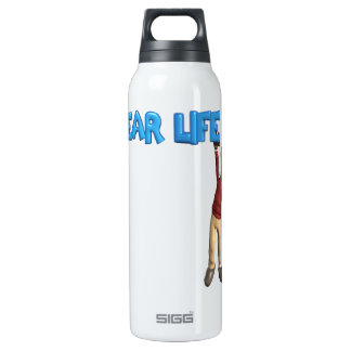 Dear Life 16 Oz Insulated SIGG Thermos Water Bottle