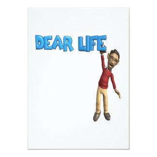 Dear Life Card