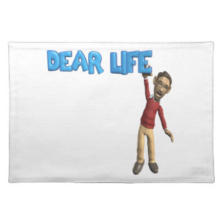 Dear Life Cloth Placemat