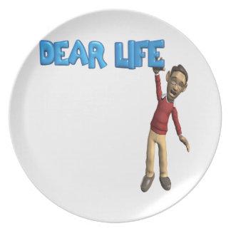 Dear Life Dinner Plate