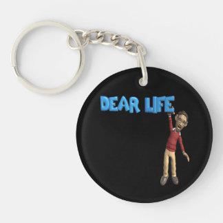 Dear Life Keychain